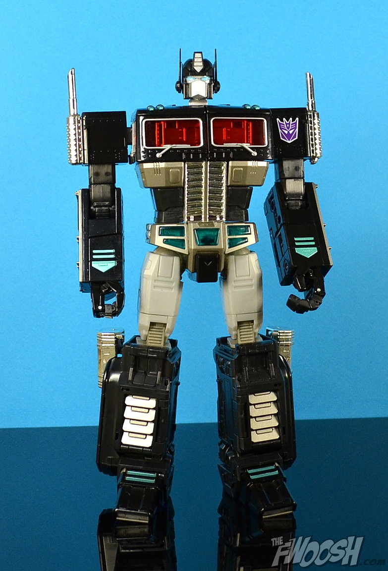 Takaratomy Transformers Masterpiece Black Convoy Mp 10b The Fwoosh 10 Optimus Prime What We Have Here Is Basically A Repaint Of Takaras Figure Identical In Every Way Except For Deco And