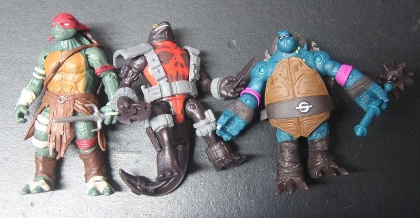 Playmates Teenage Mutant Ninja Turtles 2014 Movie Figures Breakdown Fwoosh