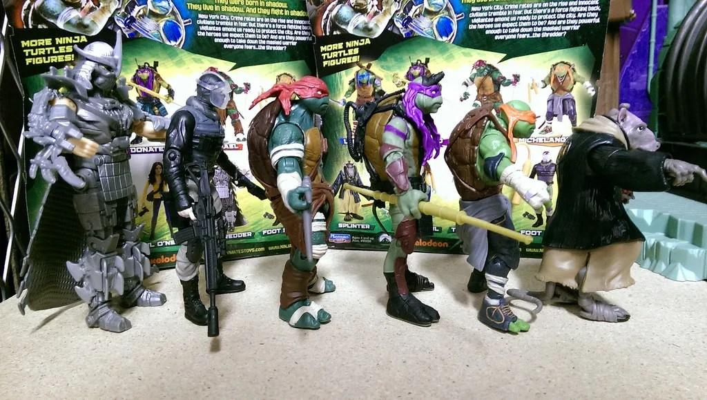 ef200899b Playmates- Teenage Mutant Ninja Turtles 2014 Loose Pics and Evolution Packs