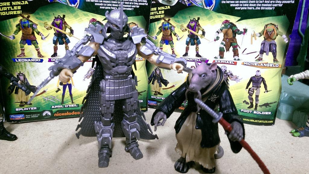 Teenage Mutant Ninja Turtles Shredder Toy : Playmates teenage mutant ninja turtles 2014 loose pics and