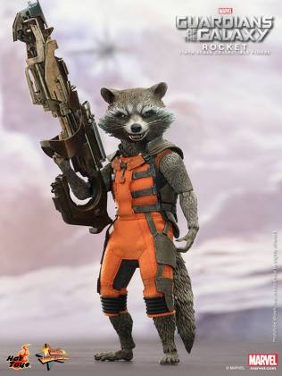 Hot Toys Guardians of the Galaxy Rocket Raccoon 3