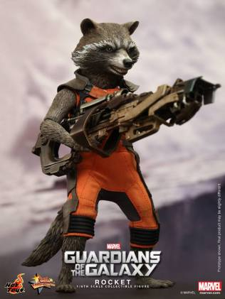 Hot Toys Guardians of the Galaxy Rocket Raccoon 4