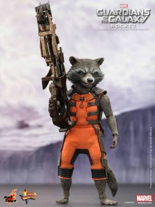 Hot Toys Guardians of the Galaxy Rocket Raccoon 5