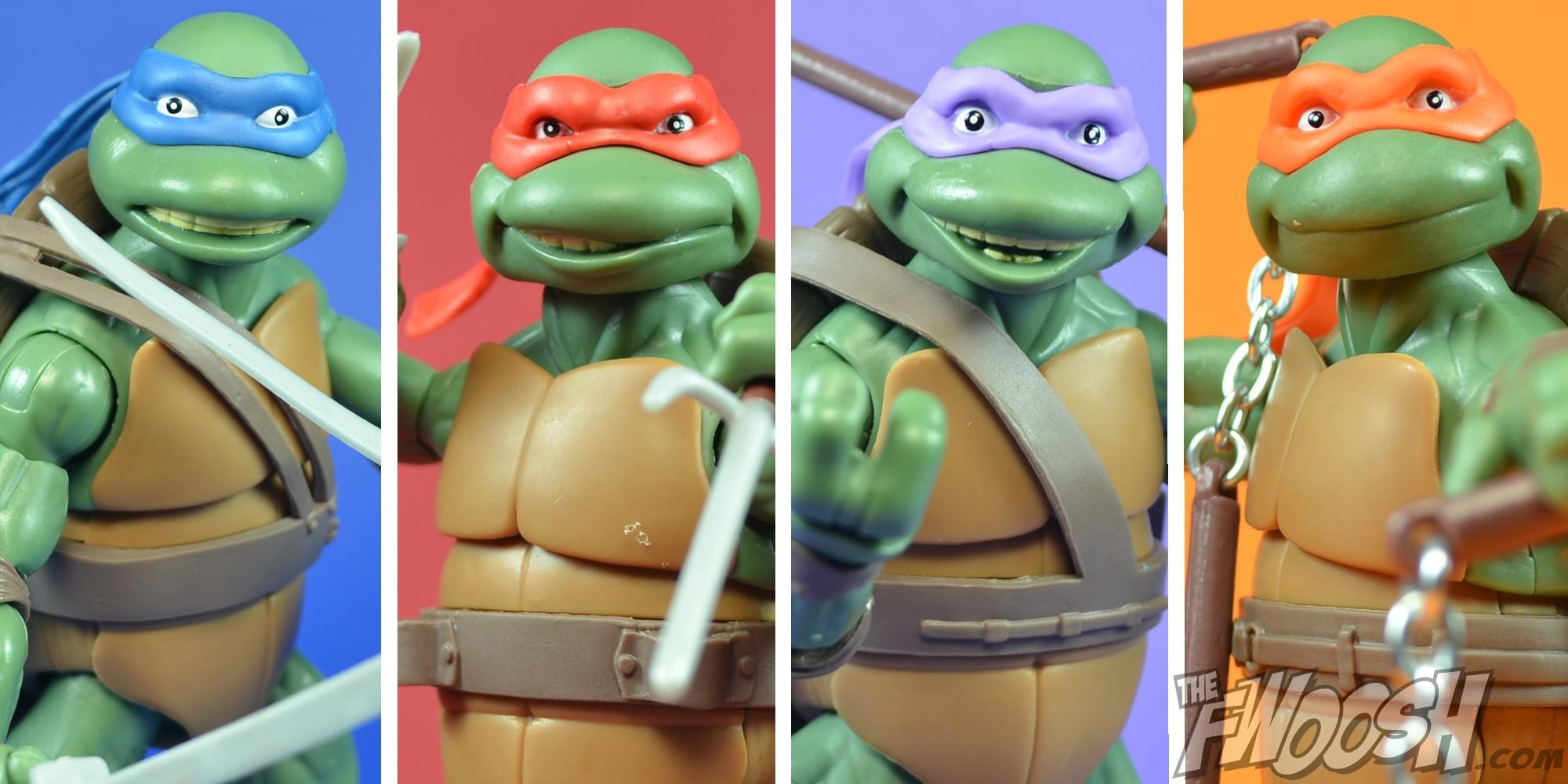 First Teenage Mutant Ninja Turtles Toys : First look playmates classic teenage mutant ninja