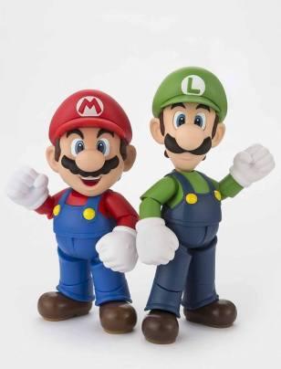 Bandai S.H. Figuarts Luigi Big 8