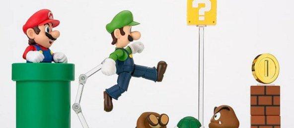 Bandai S.H. Figuarts Luigi Big Featured