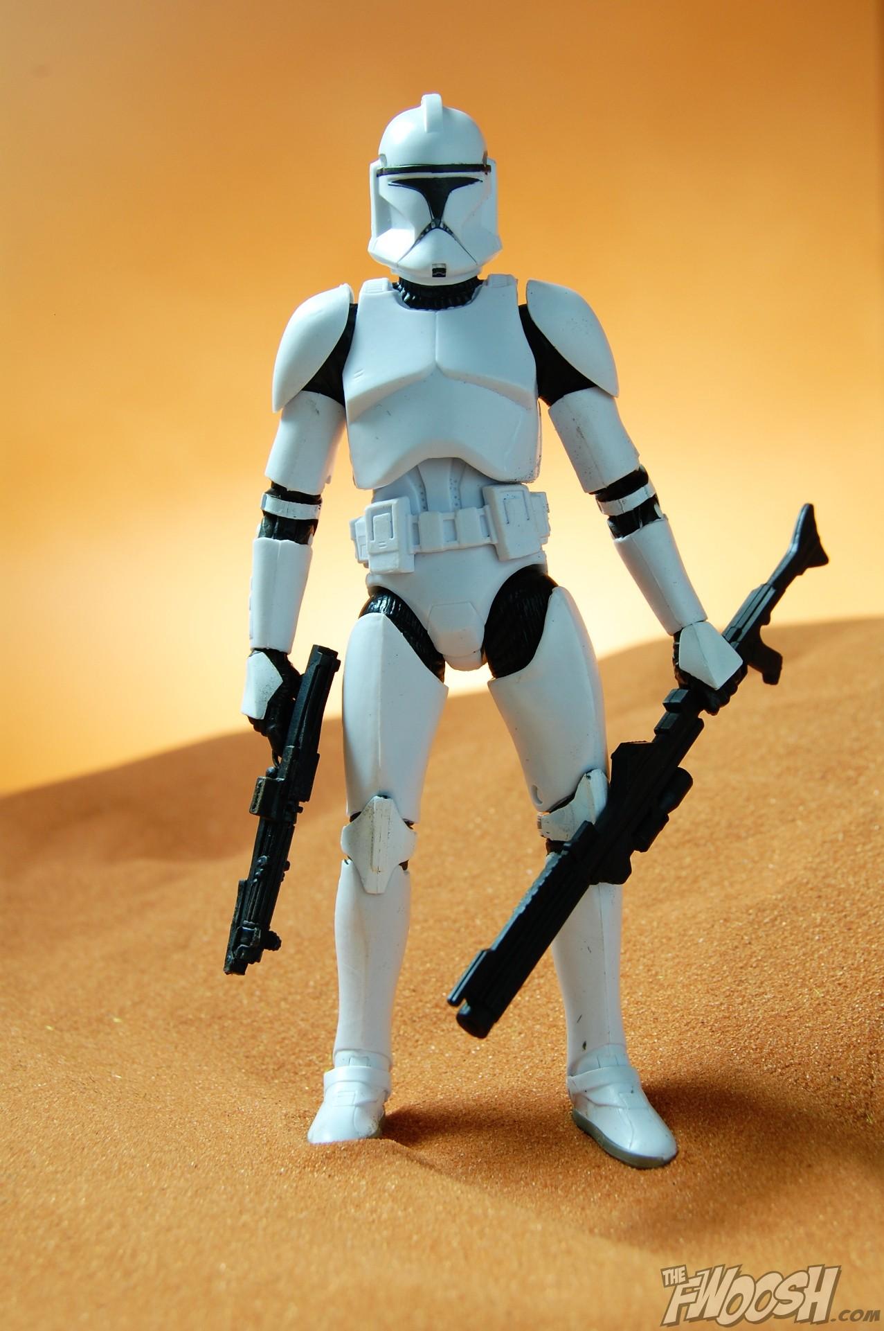 Hasbro Star Wars Black Series Anakin Skywalker and Clone