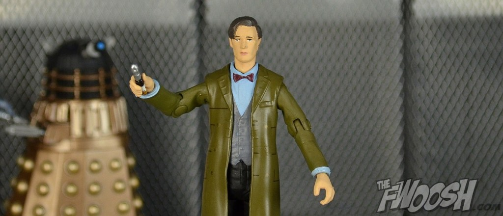 "11th Doctor Who in Green Coat Sonic Screwdriver from Season 6 3.75/"" Figure"
