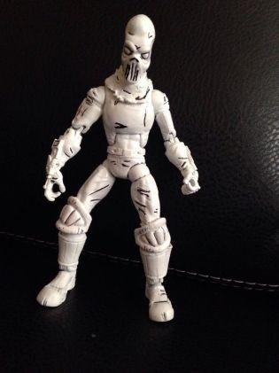 Custom Tmnt Black And White Neca Foot Soldier