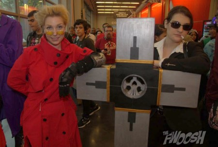 NYCC2014 cosplay - Vash and Wolfwood