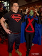 NYCC2014 cosplay - Young Justice Superboy and Miss Martian