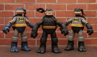 TMNT BATMAN Custom 5 Figure BANE, JOKER, HARLEY, ROBIN, You pick LOOK!! 1