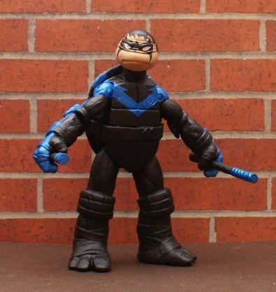 TMNT BATMAN Custom 5 Figure BANE, JOKER, HARLEY, ROBIN, You pick LOOK!! 5