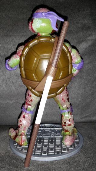Teenage Mutant Ninja Turtle CUSTOM ZOMBIE DONATELLO Classics TMNT HALLOWEEN DON 1
