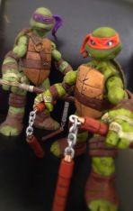 Teenage Mutant Ninja Turtles Custom Battle Shell TMNT 12 Set Sale