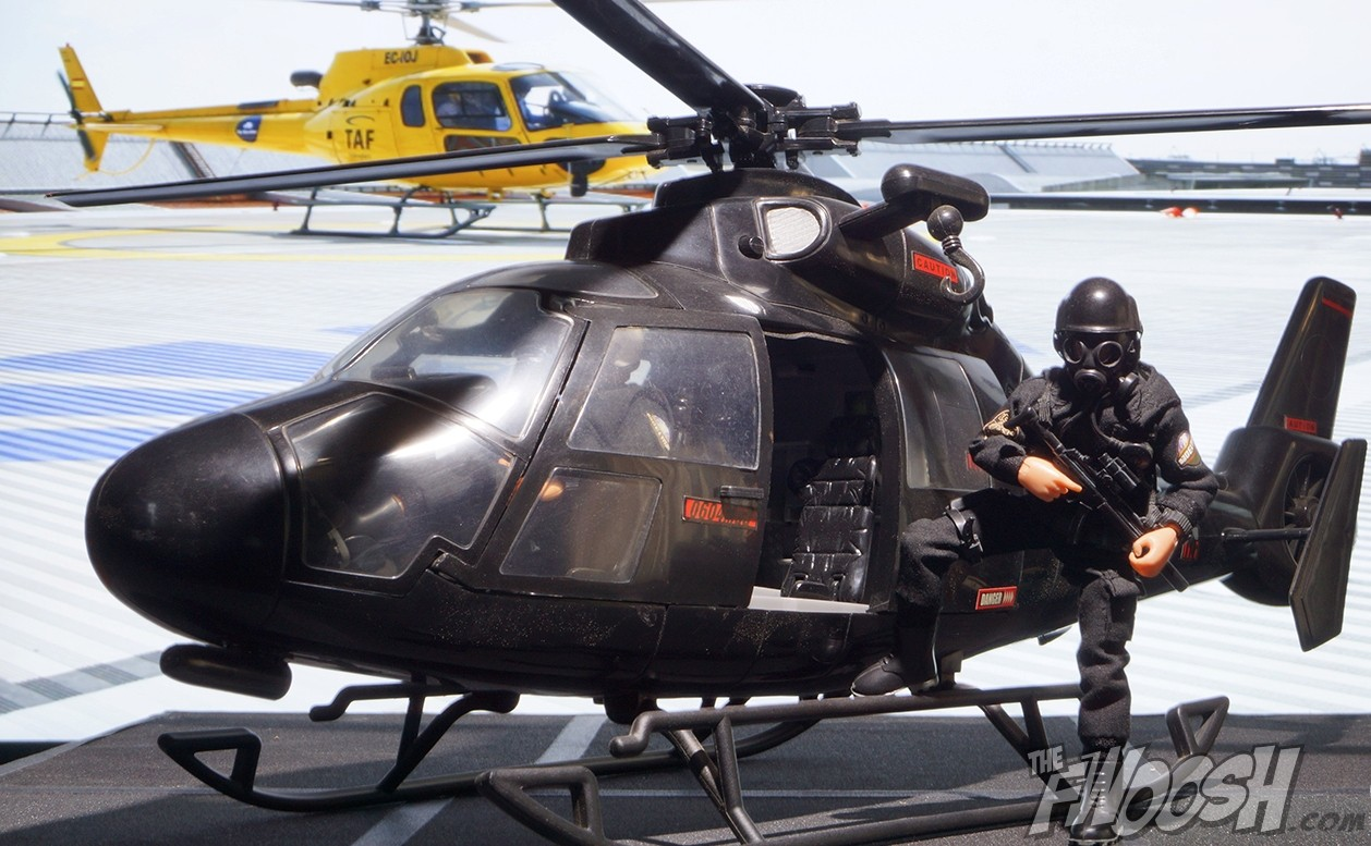 Madelman Special Forces Helicopter | The Fwoosh