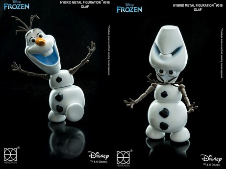 Hero 86 Hybrid Metal Figuration 018 Olaf Frozen