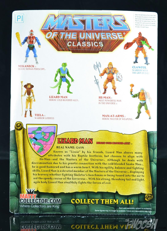 Masters of the Universe Classics LIZARD MAN Figure MOTU CHF05