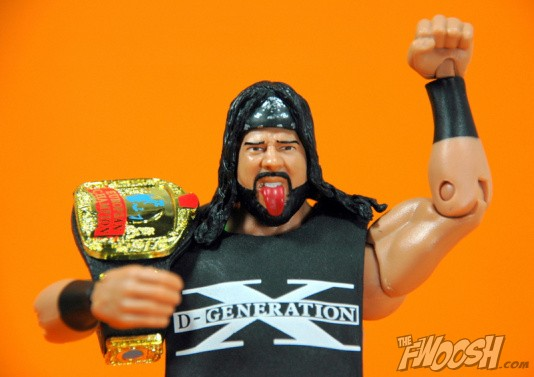 WWE Mattel Elite X-Pac Series 33 D-Generation X NEW w//European Title