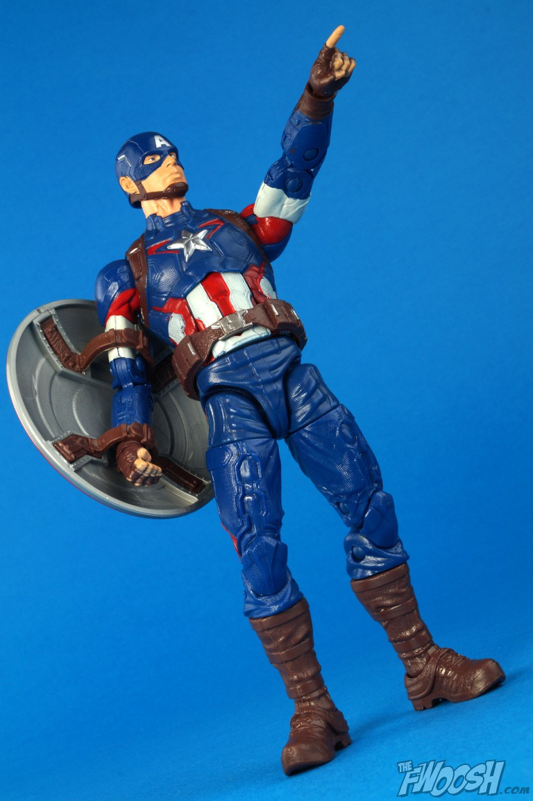 marvel legends captain america review the fwoosh. Black Bedroom Furniture Sets. Home Design Ideas