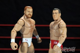 Four Horsemen figure review - Arn Anderson and Tully Blanchard