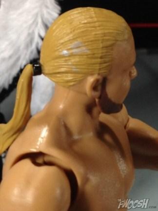 Four Horsemen figure review - Barry Windham hair paint