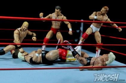 Four Horsemen figure review - Four Horsemen attack Dusty Rhodes