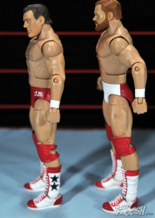 Four Horsemen figure review - Tully and Arn side