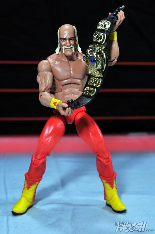 WWE Wrestling Mattel Elite Hulkamania Hulk Hogan Bandana Hat Accessory Figures