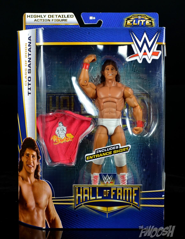WWE Elite Hall Of Fame Tito Santana Figure Target Exclusive Mattel Series 2