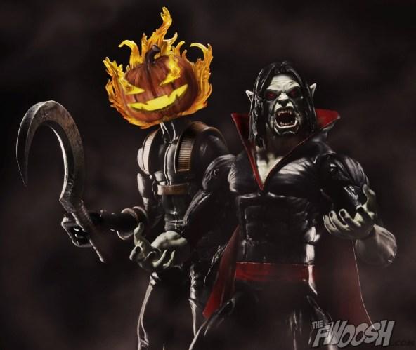 Hasbro Marvel Legends Promo SDCC 2015 Morbius Jack O Lantern