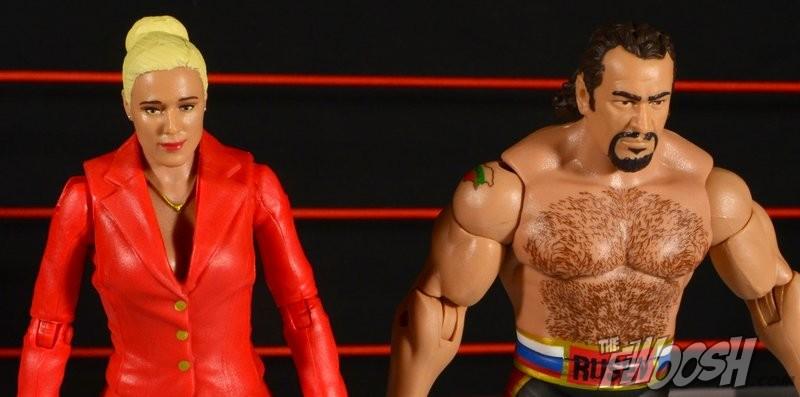 WWE Mattel Basic Battle Pack 34 Lana Red Power Suit Debut Figure