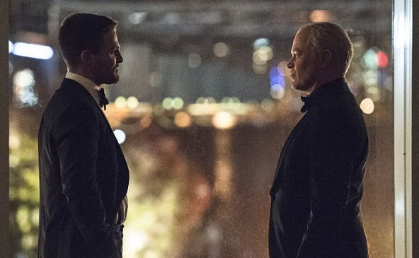 Arrow - Brotherhood - Oliver and Darhk