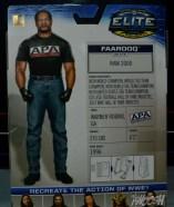 WWE Mattel APA - Farooq back package