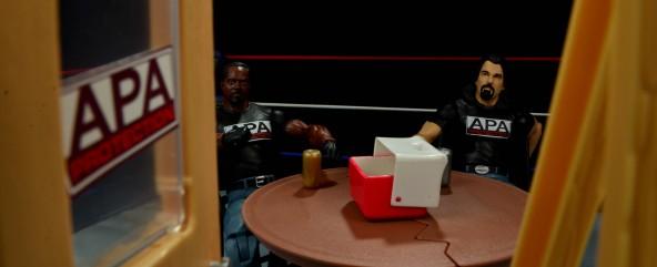 WWE Mattel APA -opening up APA office
