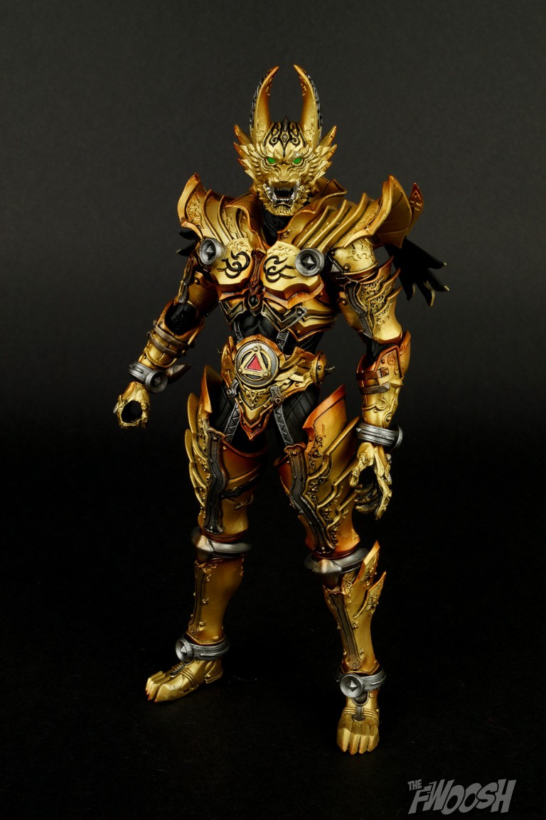 Review of Golden Knight Garo | The Fwoosh