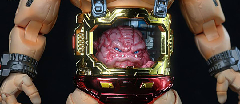 First Gokin Cerebral Special Edition TMNT Krang Featured & First Gokin: Cerebral-S NT-01S (Special Edition) or TMNT Not-Krang ...