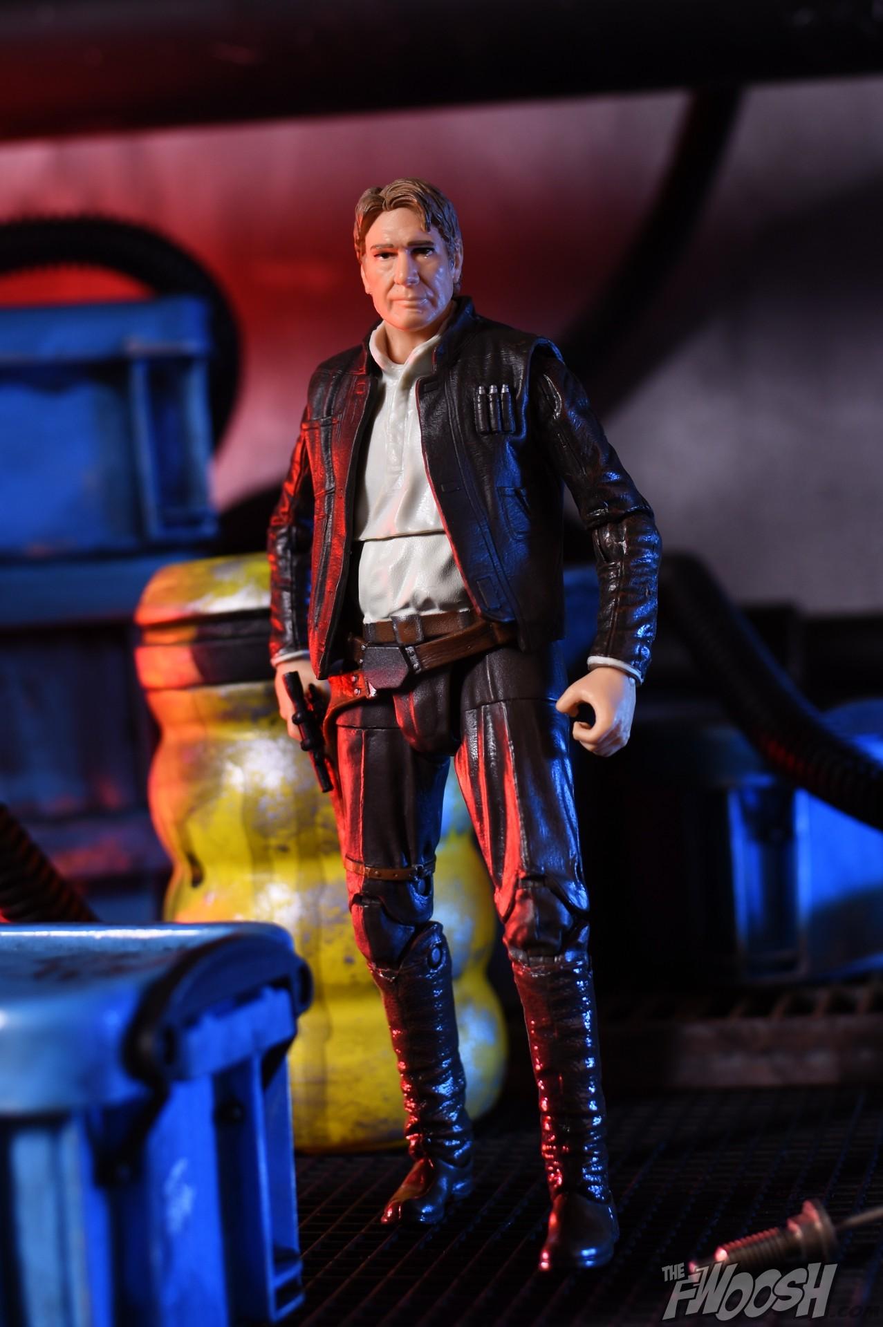 Solo: Hasbro: Star Wars Black Series The Force Awakens Han Solo