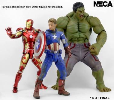 NECA Avengers Age of Ultron Hulk 4