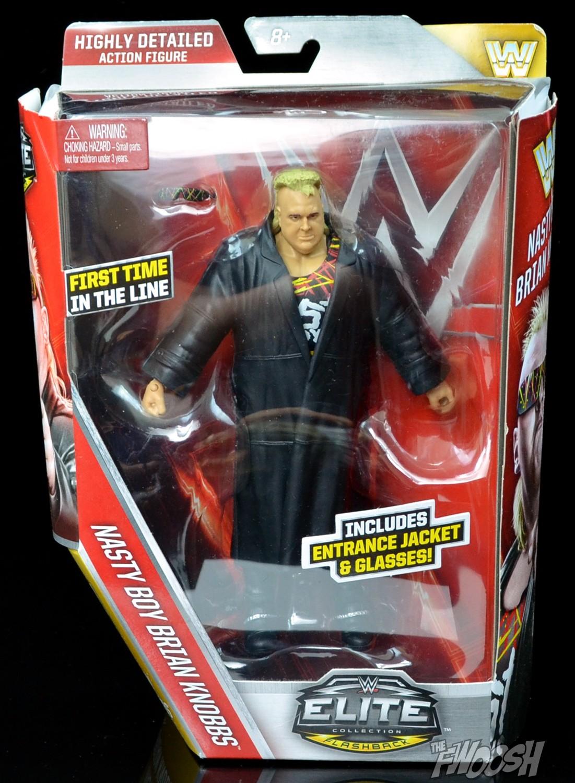 New WWE Elite Flashback Nasty Boy Brian Knobbs Action Figure w// jacket /& glasses