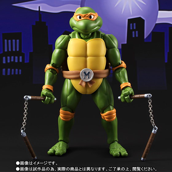 Bandai Tamashii Nation SH Figuarts Teenage Mutant Ninja Turtles Promo Michelangelo 2
