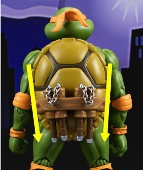 Bandai Tamashii Nation SH Figuarts Teenage Mutant Ninja Turtles Promo Michelangelo 5