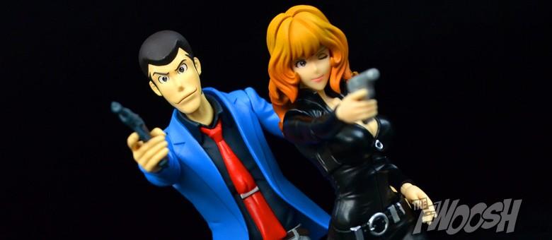 Bandai S.H.Figuarts Lupin The Third /& Fujiko Mine Action Figure Set