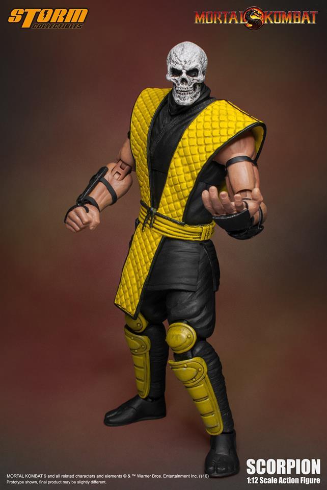 Storm Collectibles: Mortal Kombat Klassics Scorpion |