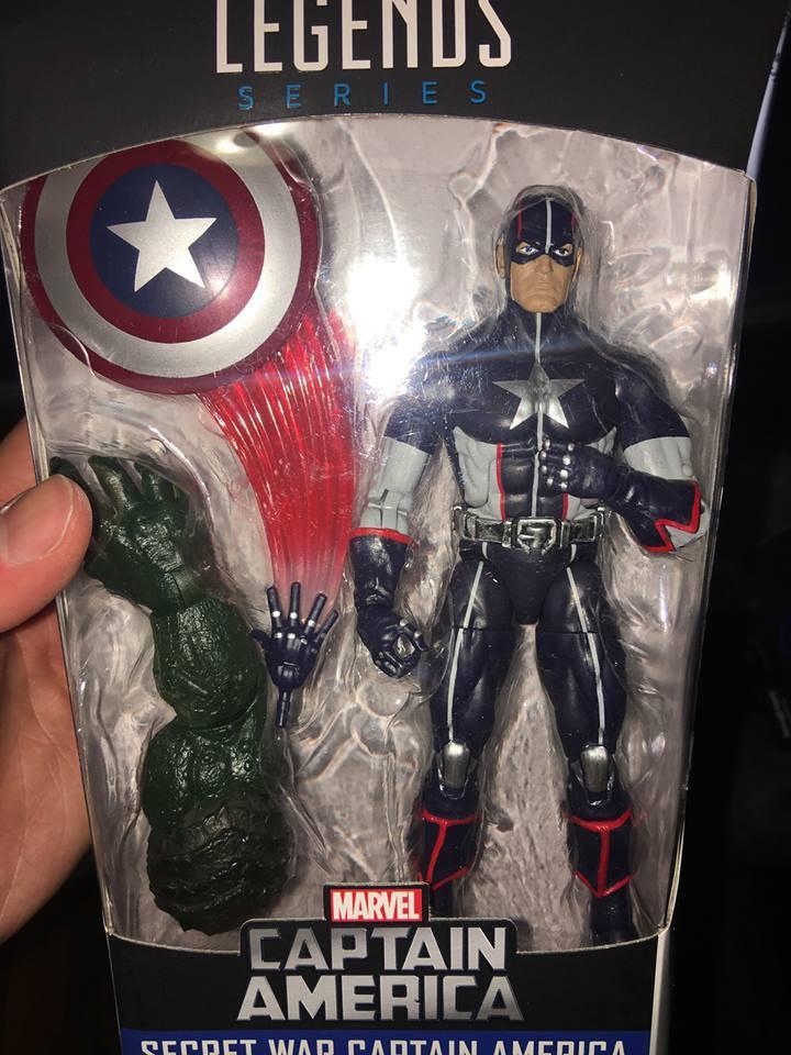 Marvel Legends 6/'/' SECRET WAR CAPTAIN AMERICA NO BAF Abomination Wave New Loose