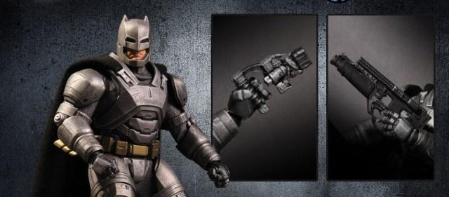 Mezco Toyz One 12 SDCC Exclusive BVS ARMORED BATMAN Featured