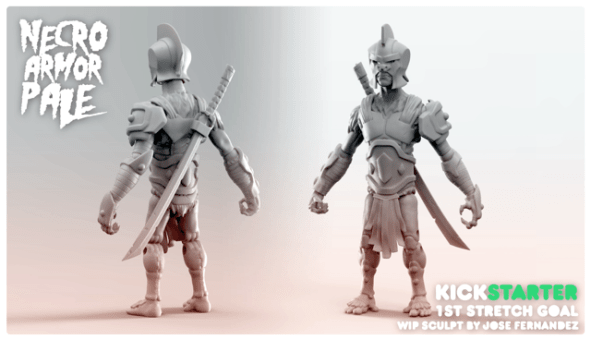 Spero Animal Warriors of the Kingdom Necro Armor Pale