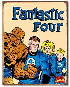Fantastic-Four-Tin-Sign