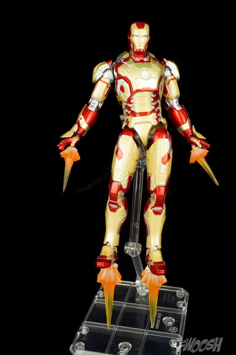 S.H. Figuarts Iron Man 3 Mark 42 Review | The Fwoosh