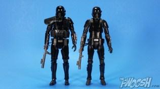 Bandai Star Wars Rogue One Model Kit Death Trooper Comparison 01